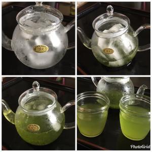 氷出し緑茶にしてみた