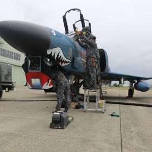 空自RF-4偵察機3機が千曲川流域などの氾濫状況を航空偵察…百里基地所属!