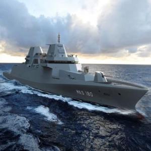 ドイツ海軍の将来を担う多目的戦闘艦「MKS180」…オランダのダーメンが建造受注!