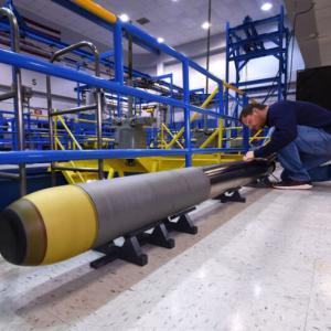 アメリカ海軍向け超軽量魚雷「VLWT」を開発…ノースロップ・グラマン!