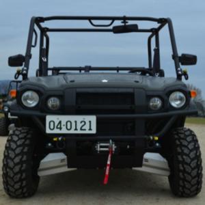 陸上自衛隊、川崎重工製ATVベースの「汎用軽機動車」…水陸機動団で評価試験を実施!