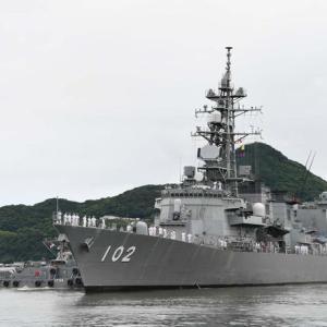 ソマリア沖派遣の海自護衛艦「はるさめ」が佐世保に帰港…貨物船やタンカーなどを護衛!