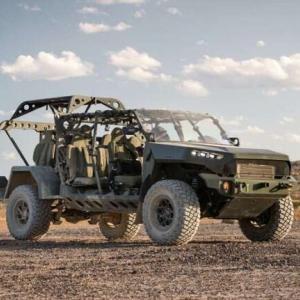 マッドマックス?GMが米陸軍用に新型歩兵分隊車両(ISV)を発表…すでに2,000台以上を受注!