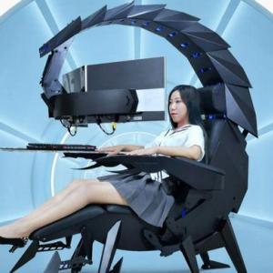 中国が本気出したサソリ型の最強ゲーミングチェア「Scorpion」…価格は21万円!