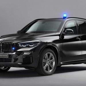 BMW、燃料電池を搭載した世界初の防弾装甲仕様車「iX5ハイドロジェン」を発表…銃器や爆発物による攻撃から保護!