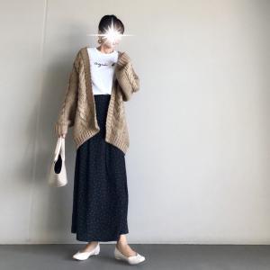 【しまむら】やっぱり可愛い!合わせやすい!!お値段以上のしまむらスカート