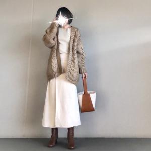 【Re:EDIT】着心地&シルエットに感動で2色揃えたお気に入りスカート