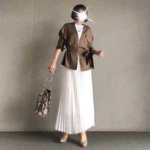 【titivate 】春コーデ・きれいめ派にオススメのサファリジャケット
