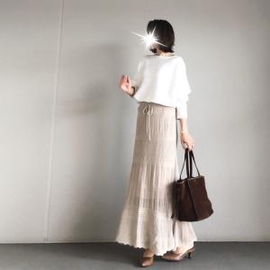 【titivate】可愛い!細見え!!いい事づくめなトレンドのかぎ針編みスカート