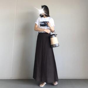 【ur's】着ていると褒められることが多いお気に入りスカート