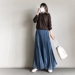 【titivate】一目惚れした大人華やかプリーツスカート