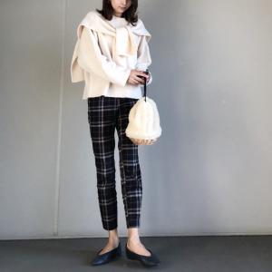 【H&M】一目惚れで即買いしたH&Mチェック柄パンツ