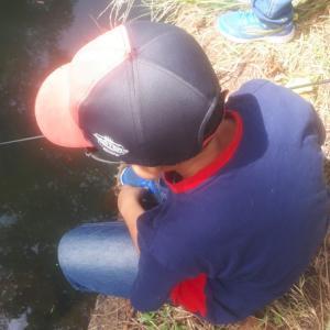 たなご釣り→岩魚釣り→ルアーDAY