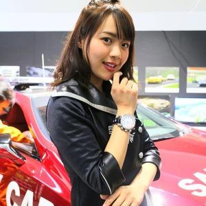 福岡モーターショー 2019-M001 オートポリスサーキットクィーン 日高亜美さん