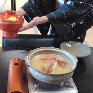 土鍋でお味噌汁を・・
