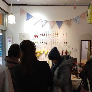 naruさんplumeさんの展示が今週末までです。