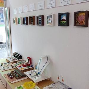 ガラスフュージング作品展 作品紹介   展示は今週末まで、