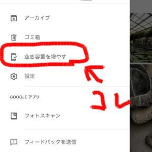 iCloud(写真同期)とGoogleフォト(・_・;