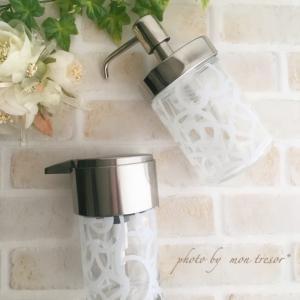 ハンドソープ&食器洗剤☆ガラス製ポンプ