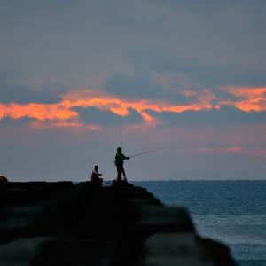 毎度お馴染みの小松海岸