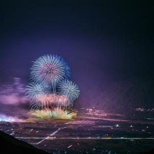 にし阿波の花火