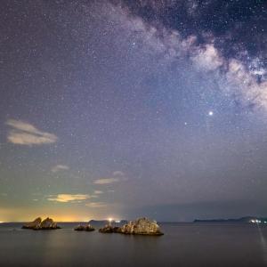 ペルセウス座流星群の夜 その2