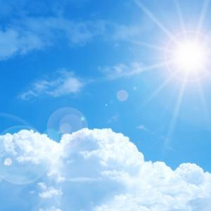 眩しい太陽!その瞬間、あなたのしわ寄っていませんか?