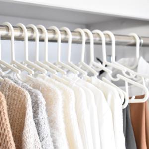 衣類を吊るす収納にしても散らかる。。原因はコレかも?