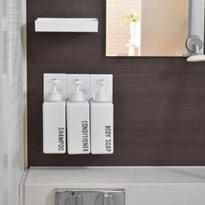 【ラク家事】お風呂の浮かせ収納で浴室掃除が劇的にラクに♩