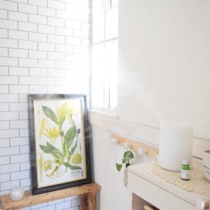 玄関ホールに癒しスポット♩香りで空間を楽しむ暮らし*