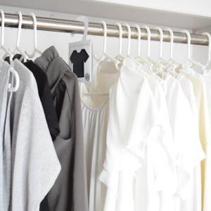 衣類分類と消臭対策に!【セリア】モノトーンお洒落アイテムとクローゼット