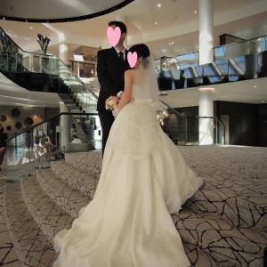【国際結婚】ドイツで結婚式3 ~極上シルクのウエディングドレス