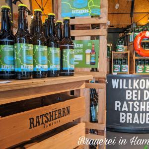 旦那の誕生日!ハンブルクでビールテイスティング!!