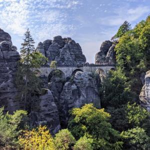 ザクセン旅行記2 絶景!ザクセンスイス国立公園の雄大な自然