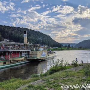 ザクセン旅行記3 エルベ川クルーズとピルナの街