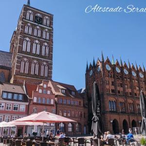【北ドイツ旅】シュトラールズント旧市街と外国人を見る目