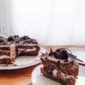 ドイツ 黒い森地方名物のケーキを作ってみた!