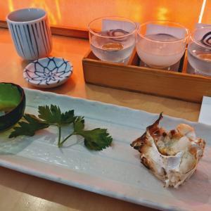 大満足!お寿司ディナーに蟹!
