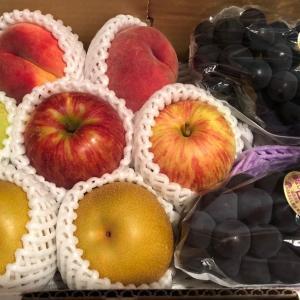 果物、花火の福袋が届きました