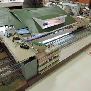 鉄道博物館風モジュールの小改修を目論む