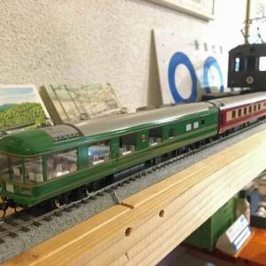 今年最初の鉄道カフェにて 「甲府モデルの新製品」