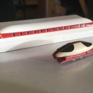 甲府モデルの「リニアモーターカー」のキット