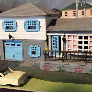 バックマンの「テラスのある住宅」