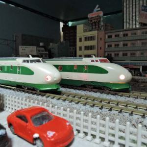 鉄道ミステリとNゲージ32「乗り合わせた客」と200系