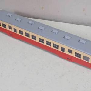 プラムの小湊鉄道キハ200の工作、その4