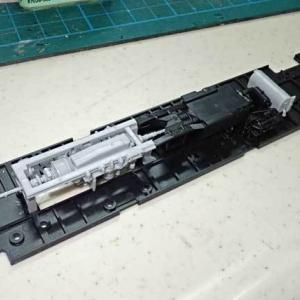 プラムの小湊鉄道キハ200の工作、その2