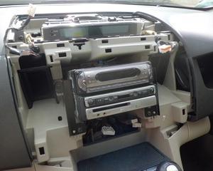 MPV(LY3P)のオーディオ交換...。
