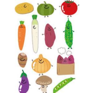 まず野菜を使って