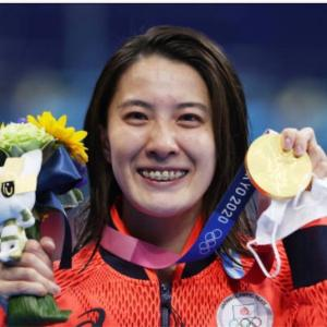 大橋悠依選手の金メダル