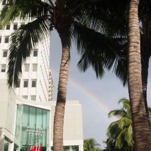 3日目の夜ごはんにはガッカリでも虹に救われる